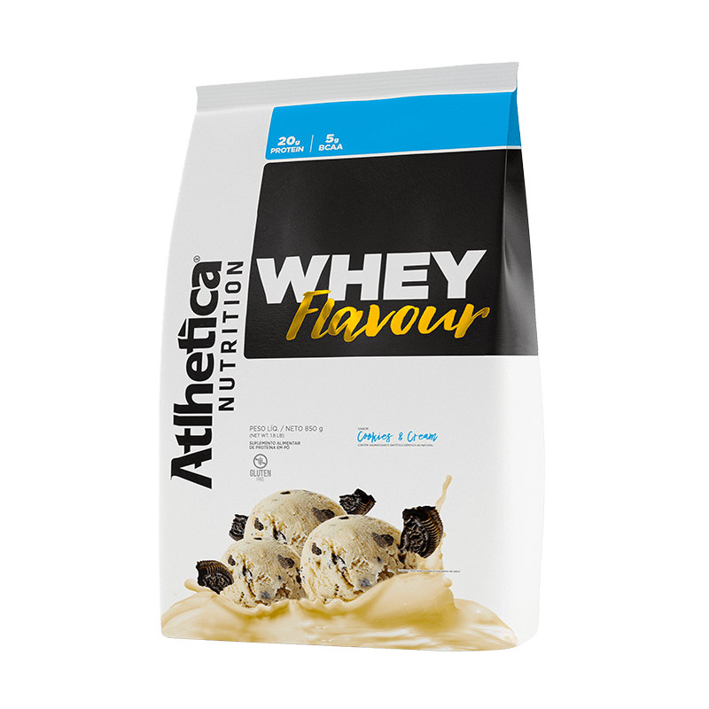 Whey Flavour Cookies & Cream (850g) - Atlhetica Nutrition