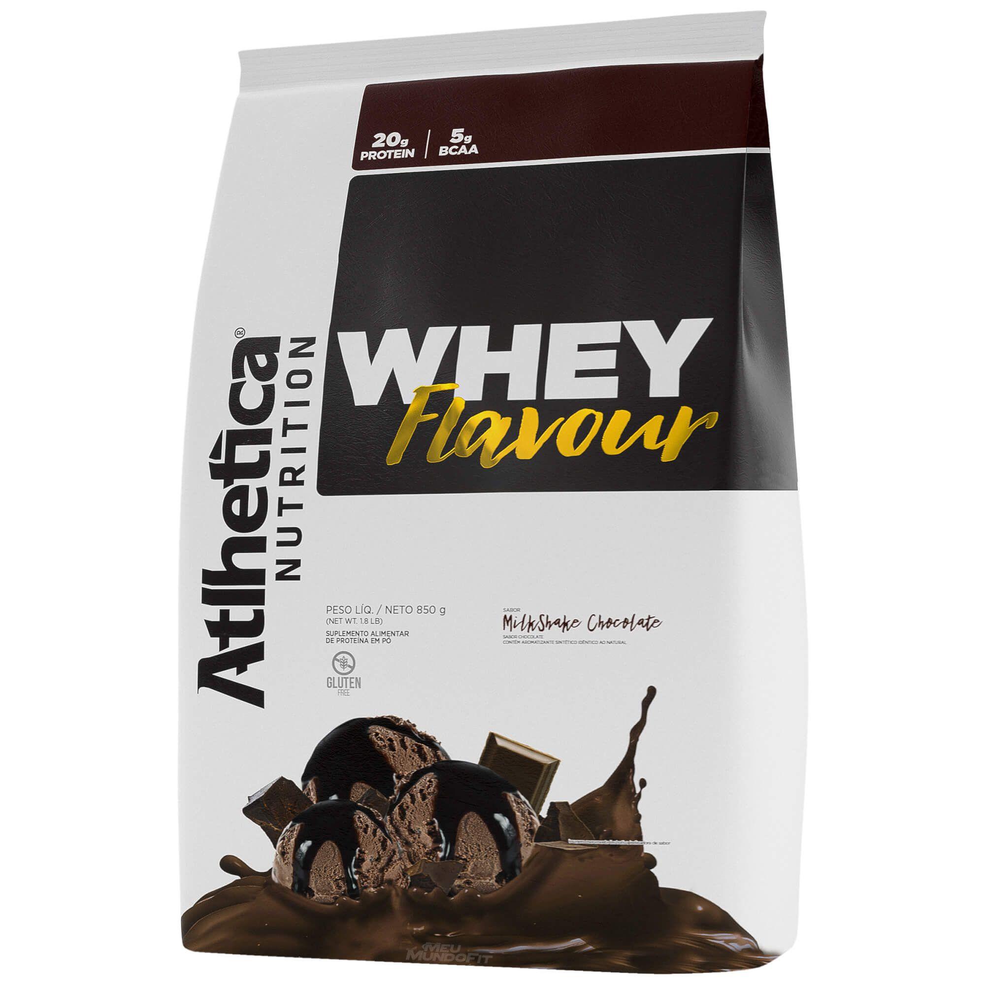 Whey Flavour Milk-shake de Chocolate (850g) - Atlhetica Nutrition