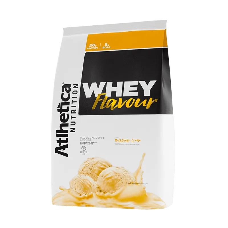Whey Flavour Milk-Shake de Creme (850g) - Atlhetica Nutrition