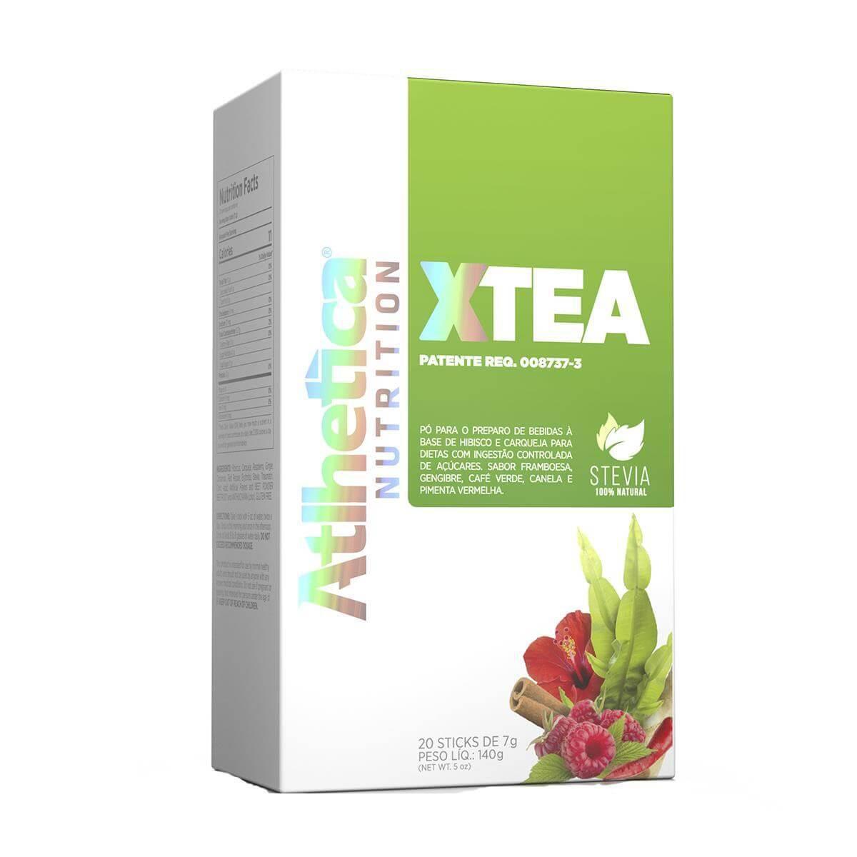 X-TEA Xtea Chá (SECA DETOX 20 sachês) - Atlhetica Nutrition