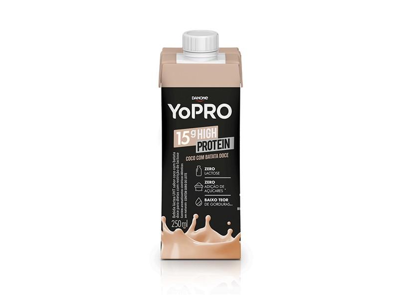 YoPRO 15g de Proteína Sabor Coco com Batata-Doce (250ml) - Danone