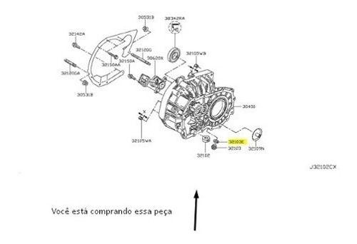 Arruela Bujão Cárter Nissan Livina Sentra March Original