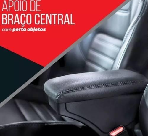 Apoio De Braço Couro Chevrolet Onix Prisma 2012 2017 2018