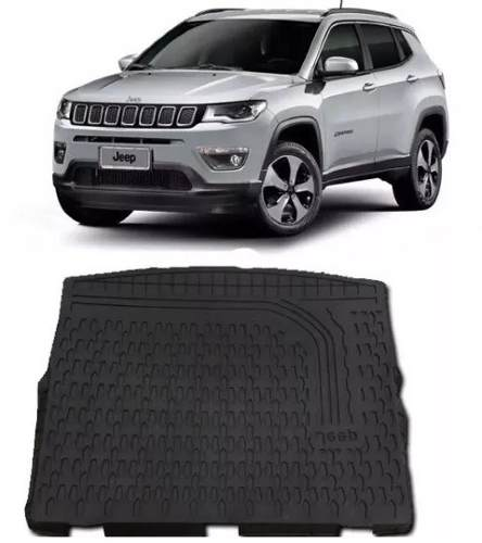 Tapete Porta Malas Com Bordas Elevadas Jeep Compass Original