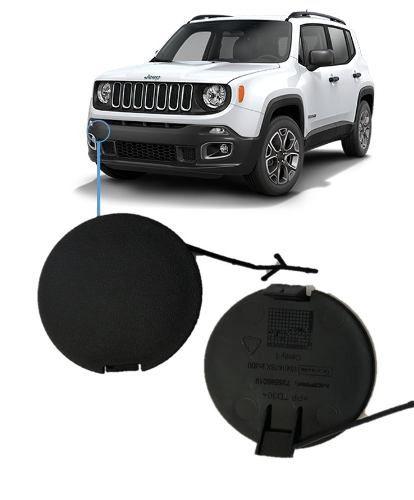 Tampa Reboque Parachoque Jeep Renegade 2015 2017 19 Original