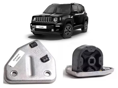 Coxim Elastico Tubo Escape Jeep Renegade 2016 2019 Original