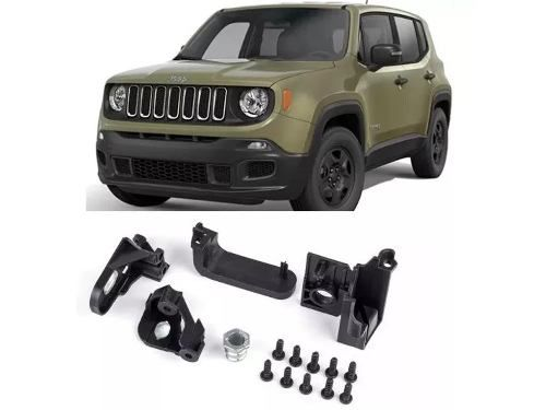Kit Reparo Farol Esquerdo Jeep Renegade 2015 2018 Original