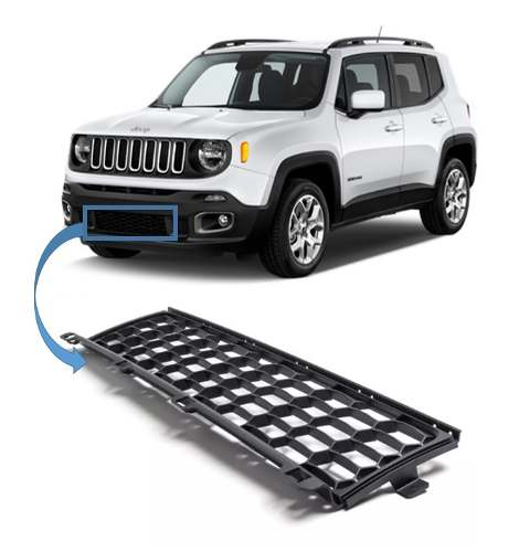 Grade Inferior Parachoque Dianteiro Jeep Renegade Original
