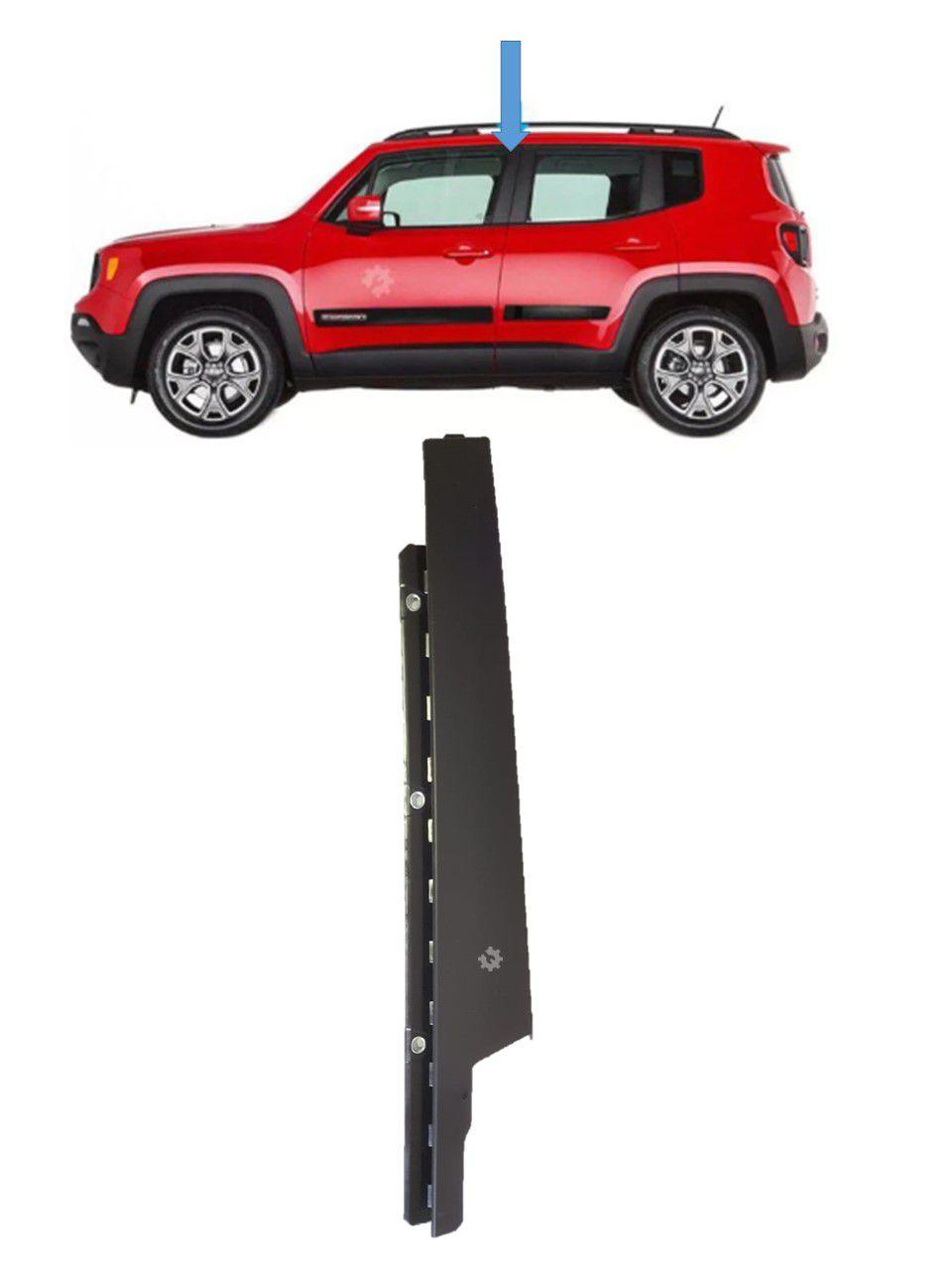 Acabamento Porta Dianteira Esquerda Jeep Renegade Original