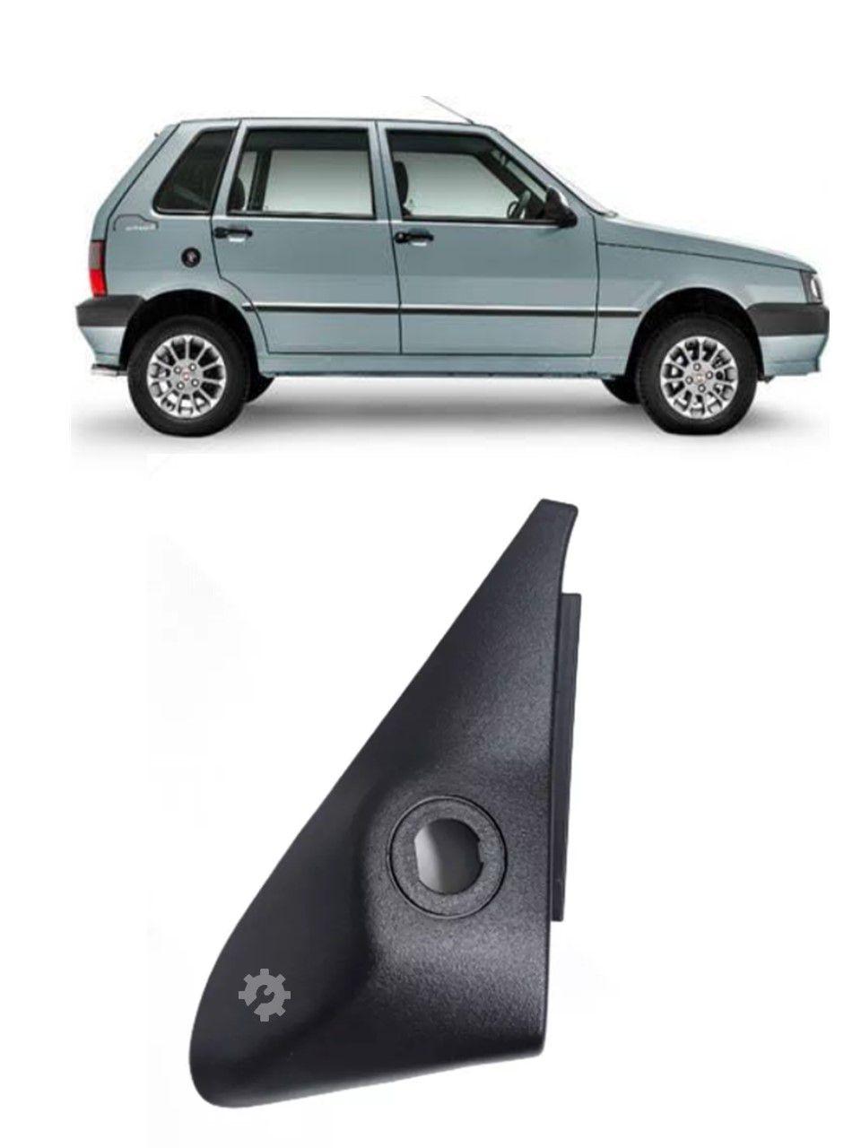 Acabamento Retrovisor Direito 4pt Fiat Uno 2004 2013 Original