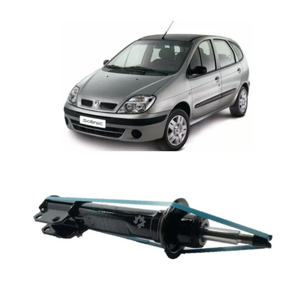 Amortecedor Dianteiro Renault Scenic 1999 05 2010 Original