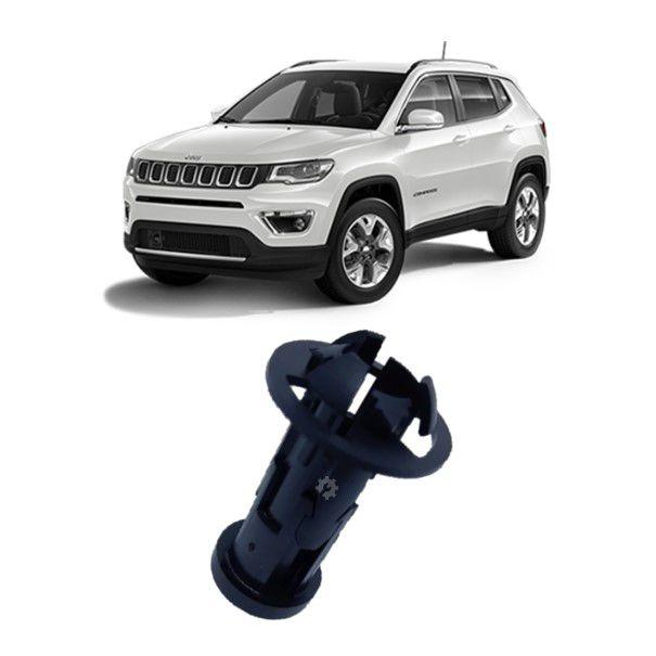 Batente Trava Capô Anti Furto Jeep Compass 2017 2020 Original