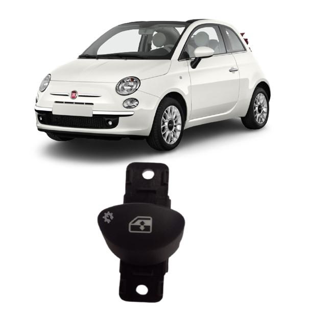 Botao Vidro Eletrico Fiat 500 2010 2012 2014 16 20 Original