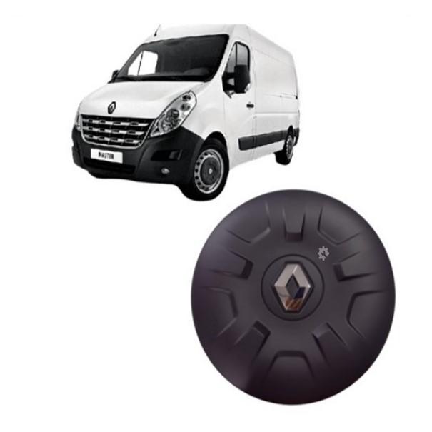 Calota Central Renault  Master Emblema Cromado 2014  2019 Original