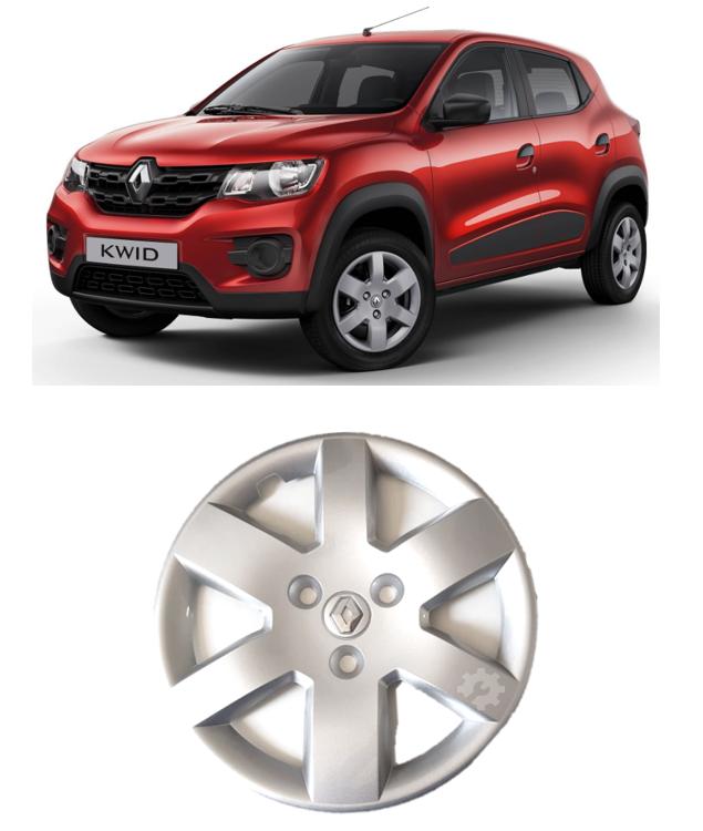 Calota Renault Kwid 2017 2018 2019 Prata Aro 14 Original