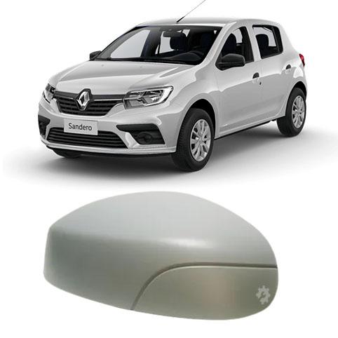 Capa Retrovisor Esquerdo Renault Novo Sandero 2014 2020