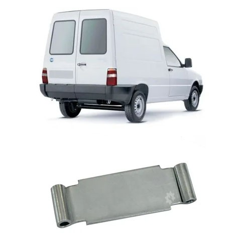 Chapa Limitadora Porta Traseira Fiorino 1985 2000 2005 2014