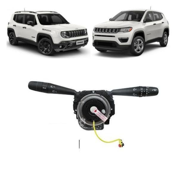 Chave Seta Jeep Compass Renegade 2015 2021 Original