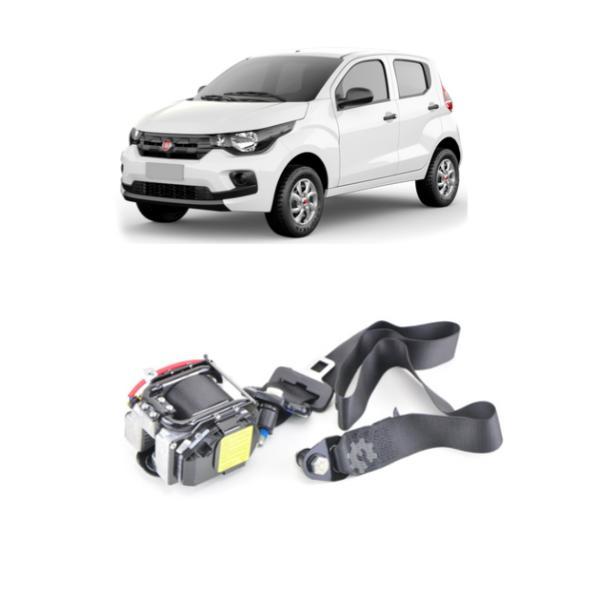 Cinto De Segurança Dianteiro Esquerdo Fiat Mobi 2017 2020
