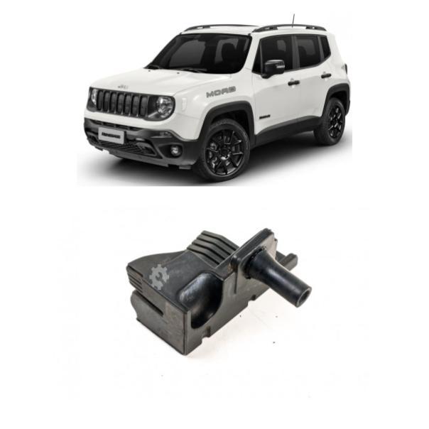 Coxim Direito  Batente Capo Jeep Renegade 2015 2020 Original