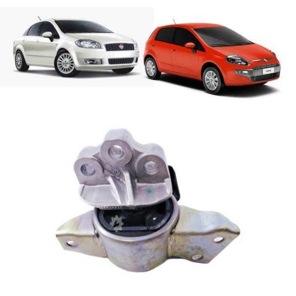 Coxim Elástico Motor Direito Fiat Linea Punto 2008 2017