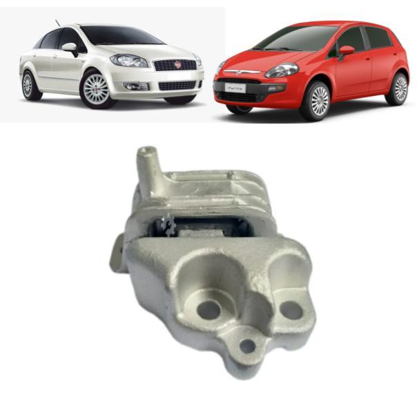 Coxim Esquerdo Motor  Fiat Linea Punto  2009 2017 Original