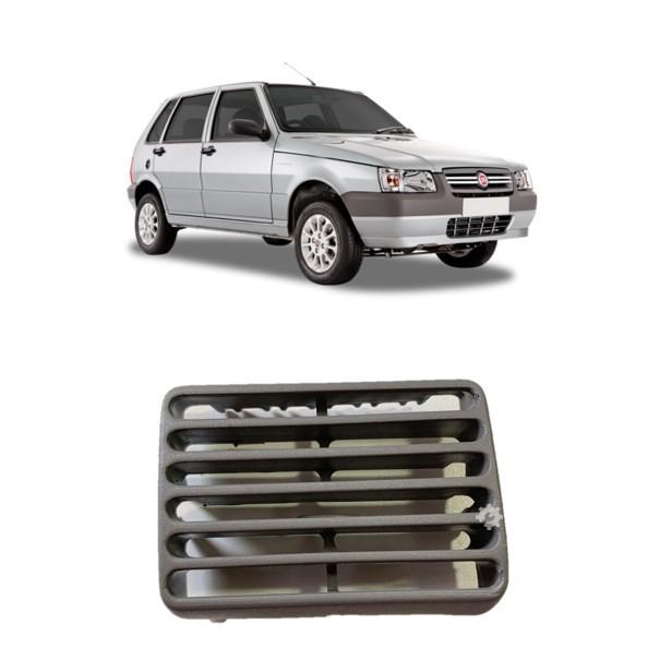 Difusor Ar Central Esquerdo Cinza S/ Aletas Fiat Uno 1995
