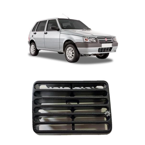 Difusor Ar Central Esquerdo Preto S/ Aletas Fiat Uno 1995