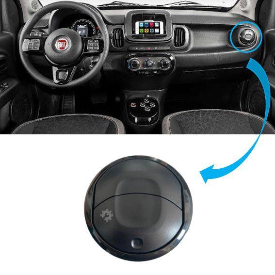Difusor Saída Ar Lateral Fiat Mobi 2017 2018 2019 Original