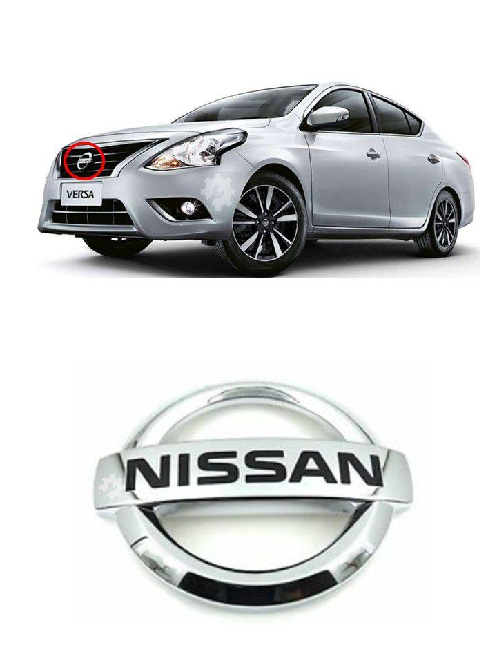 Emblema Grade Dianteira Nissan Versa 2011 2012 2014 Original