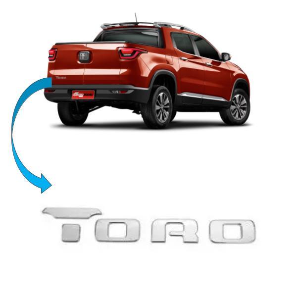 Emblema Tampa Traseira Fiat Toro 2016 2021 Original