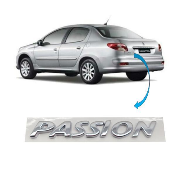 Emblema Traseiro Peugeot Passion 2012 Original