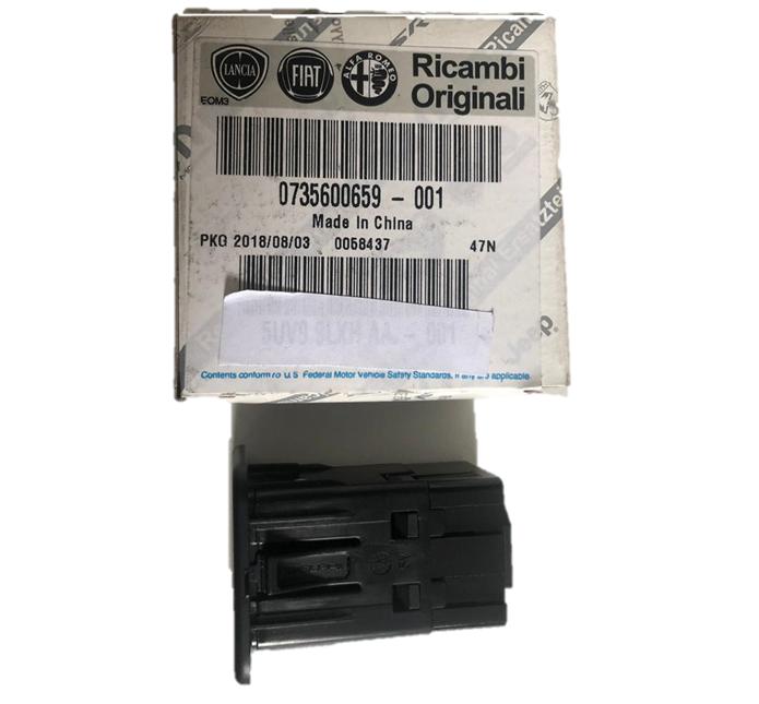 Entrada USB 16V Traseira Jeep Renegade 2018 19 PCD Original