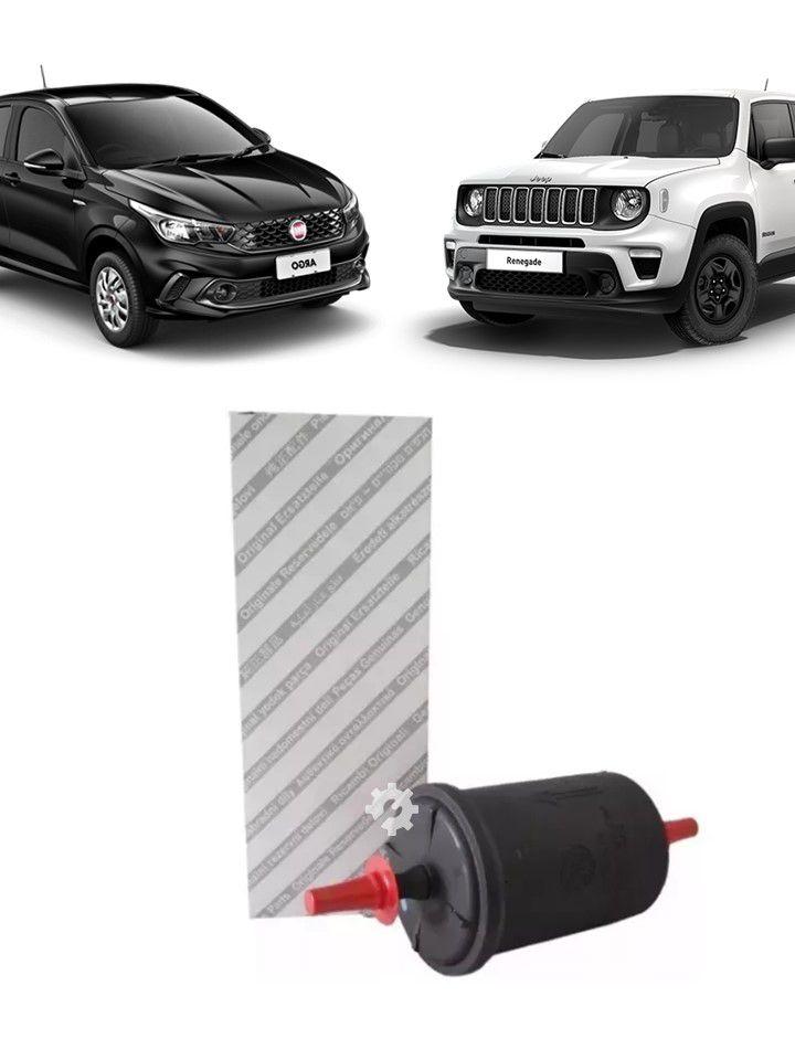 Filtro Combustível Linha Fiat 2001 2010 2015 2019 Original