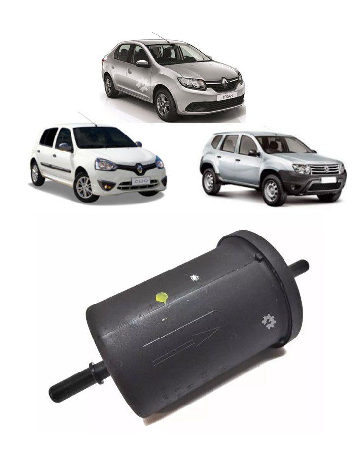 Filtro Combustivel Sandero Logan Clio Duster Scenic Original