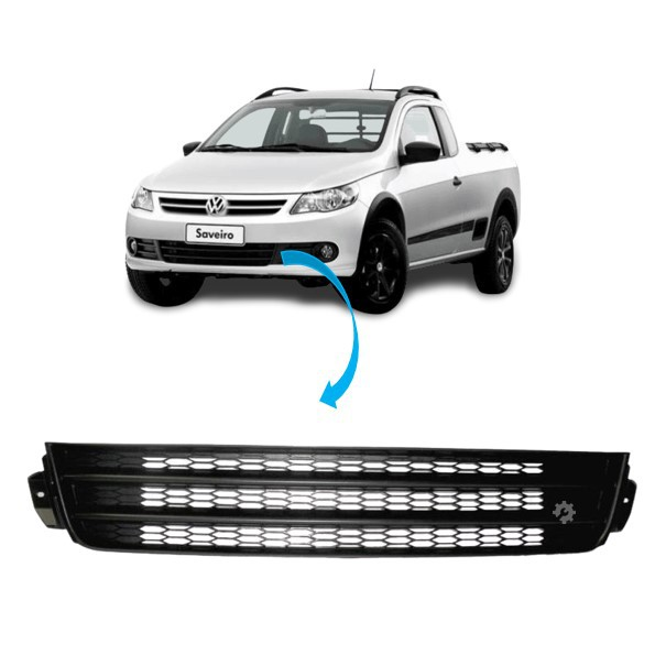 Grade Inferior Dianteira Volkswagen Saveiro Gol Voyage G5