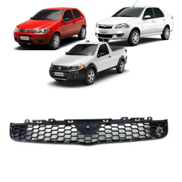 Grade Superior Parachoque Fiat Strada Siena Palio 2013 2020