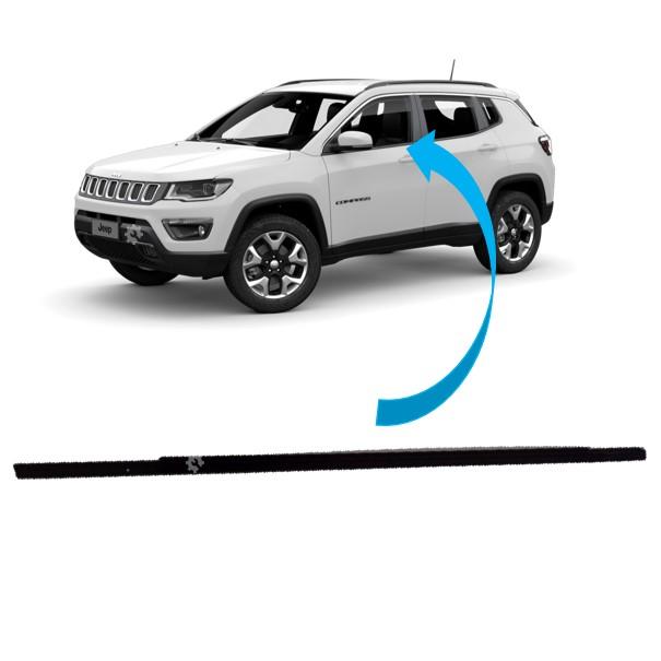 Borracha Vidro Esquerdo Dianteiro Jeep Compass 2017 2020 Original