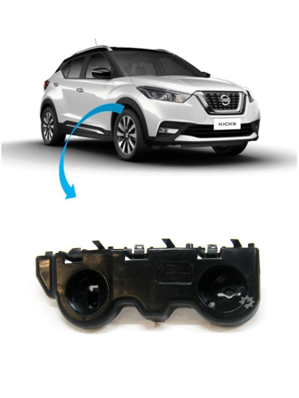Guia Parachoque Dianteiro Direito Nissan Kicks Original