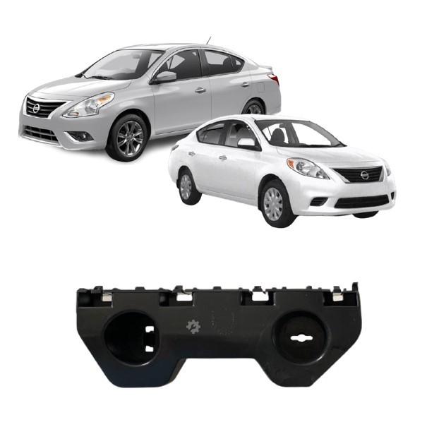 Guia Parachoque Dianteiro Direito Nissan Versa 2012 2019