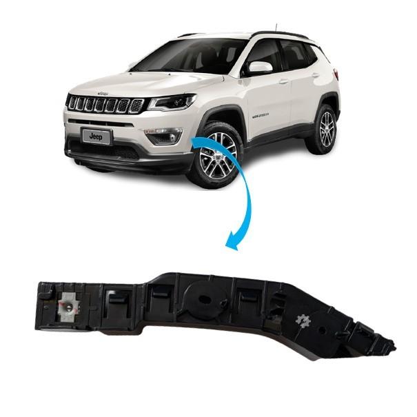 Guia Parachoque Dianteiro Esquerdo Jeep Compass 2017 2020