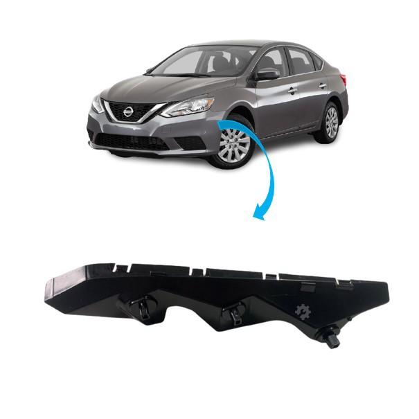 Guia Parachoque Dianteiro Esquerdo Nissan Sentra Original