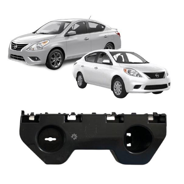 Guia Parachoque Dianteiro Esquerdo Nissan Versa 2012 2019