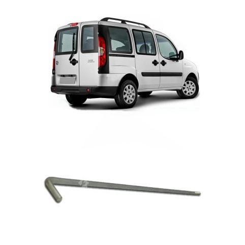 Haste Inferior Porta Traseira Esquerda Fiat Doblo 2002 2019