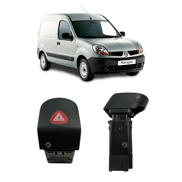 Interruptor Botão Pisca Alerta Renault Kangoo 2000 2018