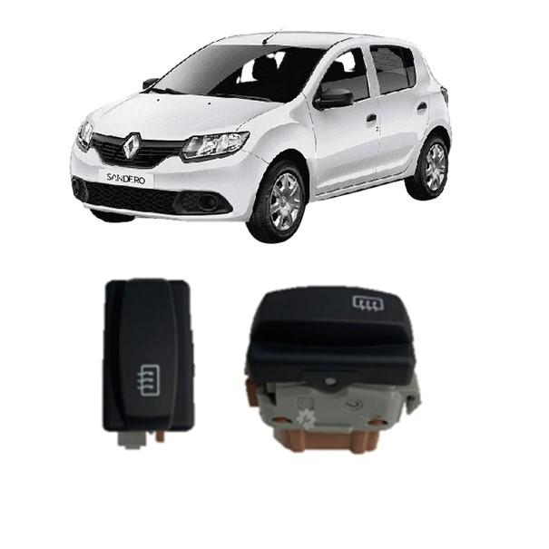 Interruptor Desembaçador Renault Sandero 2011 2014 Original