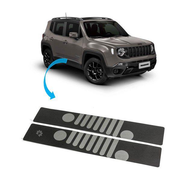 Jogo Protetor de Soleira Jeep Renegade 2018 2019 Original Mopar