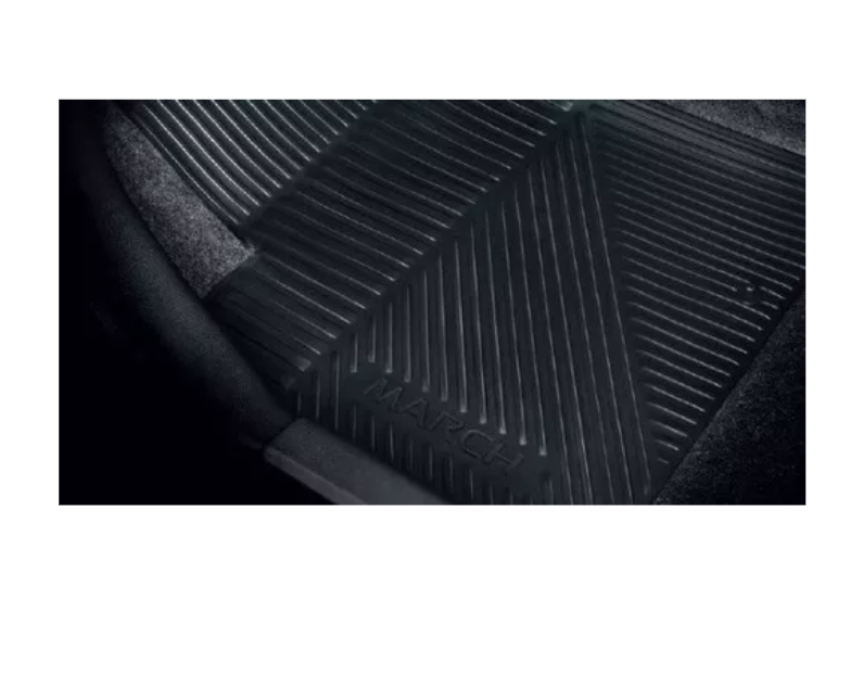 Jogo Tapete Borracha Nissan March 2016 2018 2019 Original
