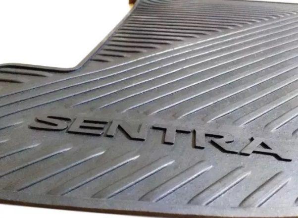 Jogo Tapete Borracha Nissan Sentra 2015 2017 2018 Original