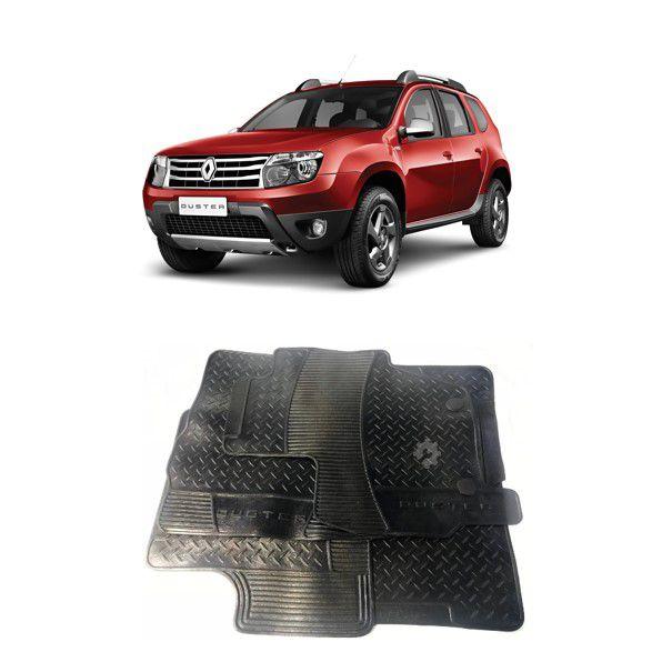 Jogo Tapete Borracha Renault Duster 2012 2015 2018 Original